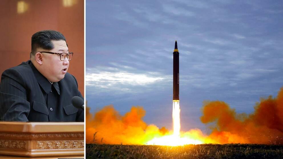 Kim Jong-Un fattade beslutet under ett stort partimöte på fredagen, enligt statliga nyhetsbyrån KCNA