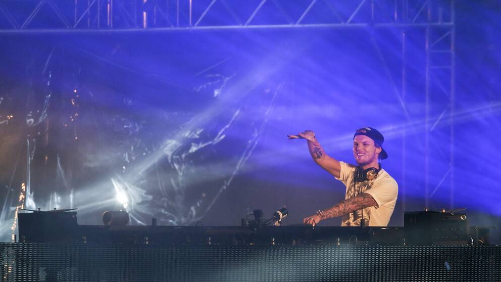Avicii under Summerburst i Göteborg 2015.