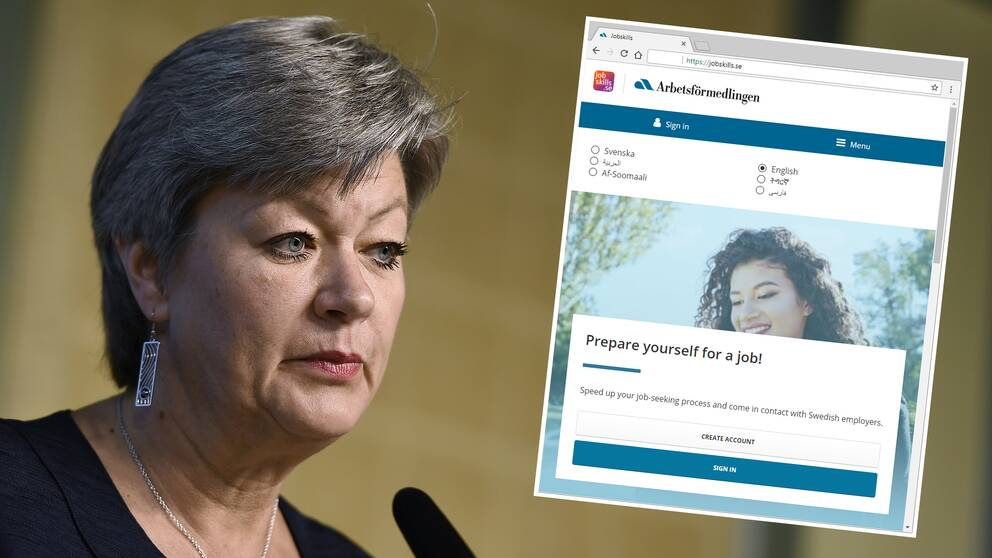 Arbetsmarknadsminister Ylva Johansson (S) sade att jobbsatsningen på 20 miljoner kronor skulle räcka, tre år senare har prislappen hamnat på omkring 90 miljoner kronor.