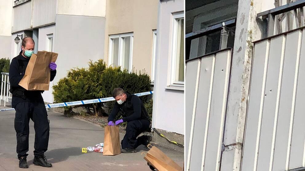 Knivman overfoll kvinnlig polis