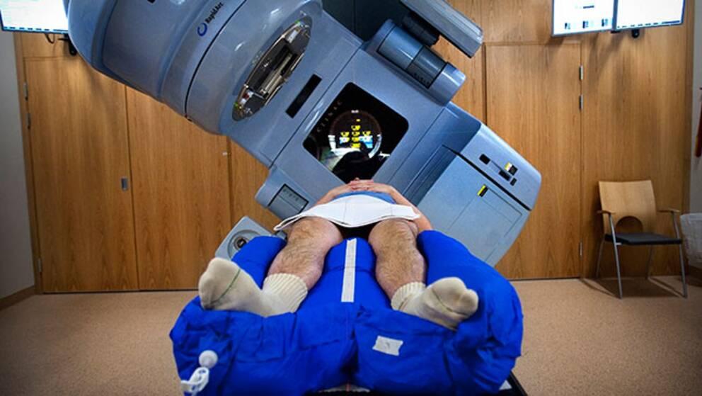 Cancerpatient under behandling