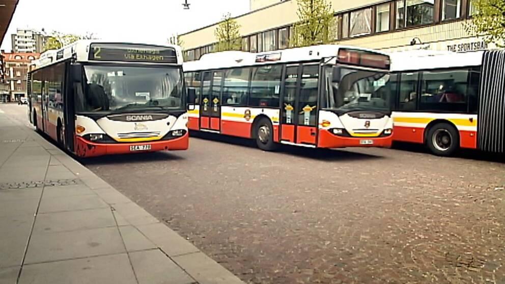 Jönköpings länstrafik, bussar