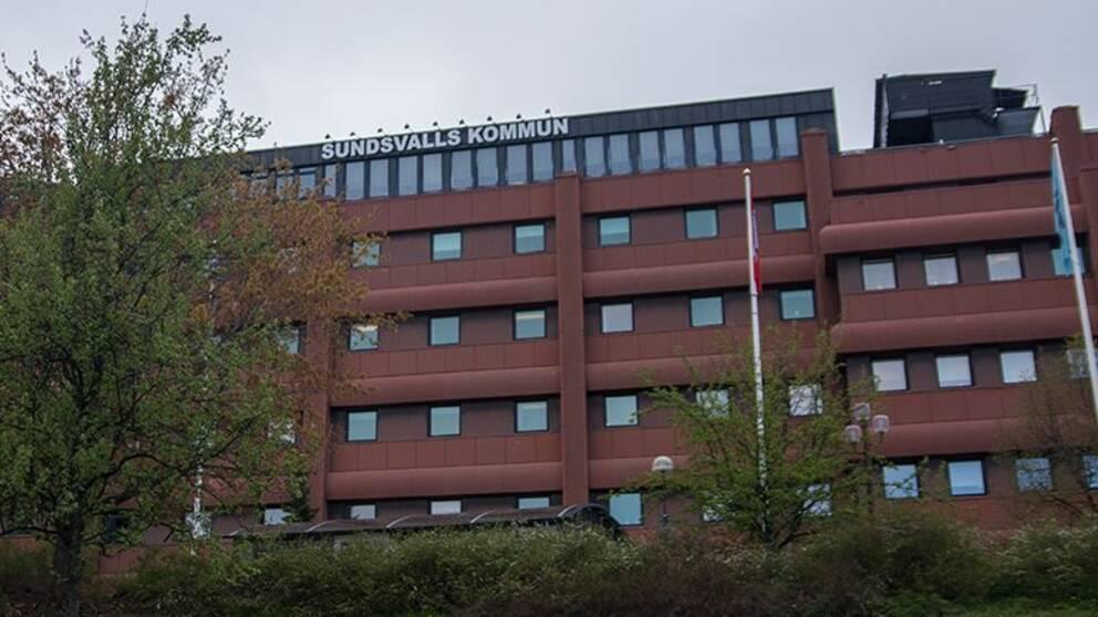 Kommunhuset i Sundsvall.