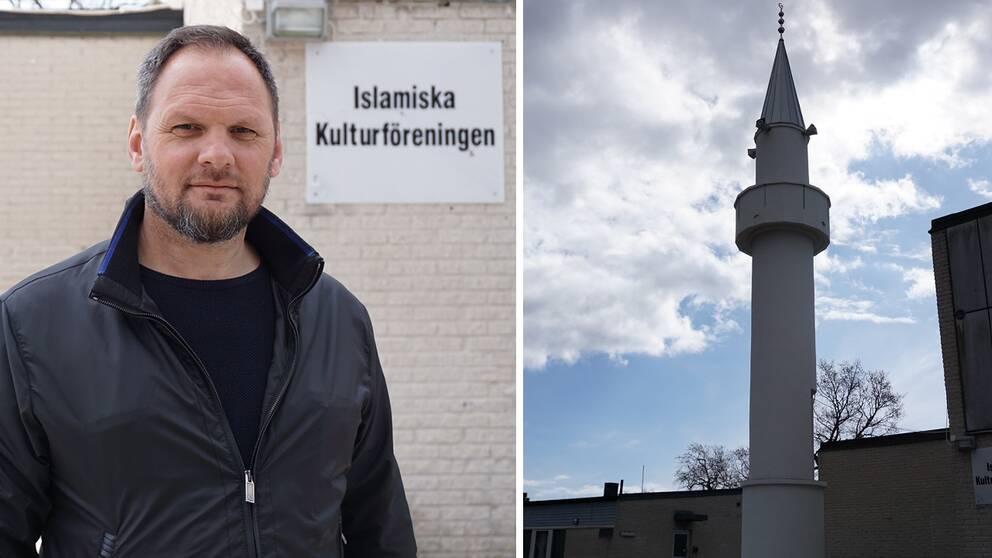 Mulo Djopa är försiktigt positiv efter kommunens remissyttrande om böneutrop i Kungsmarken.