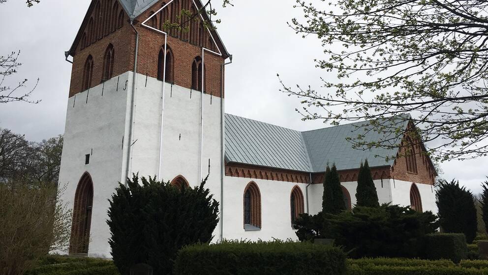 Odarslövs kyrka utanför Lund.