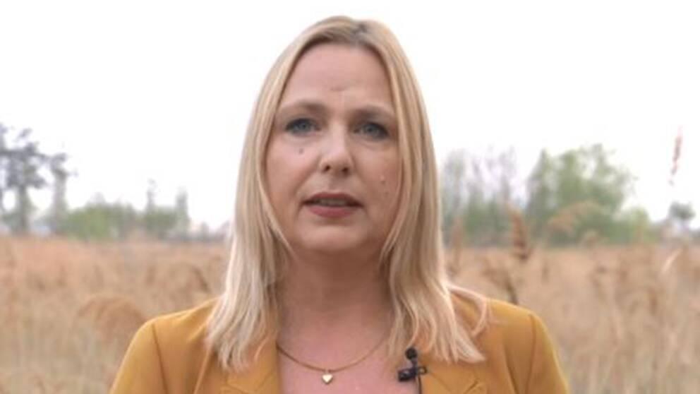 SVT Nyheters Asienkorrespondent Susan Ritzén.