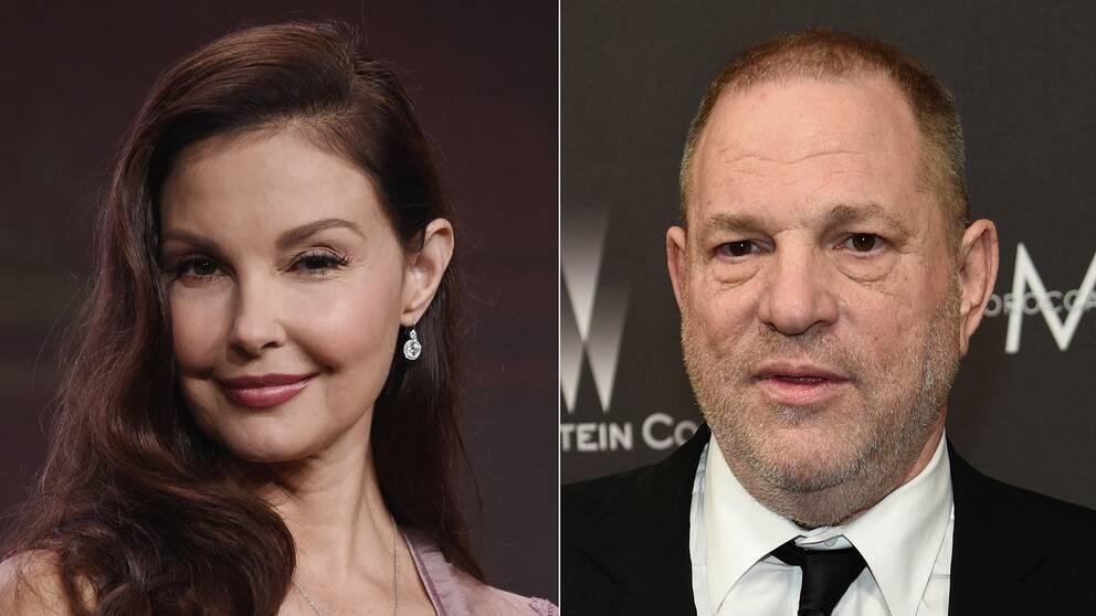 Ashley Judd och Harvey Weinstein