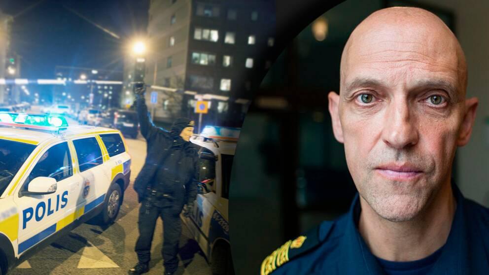 Polisen slog mot gangkriminaliteten