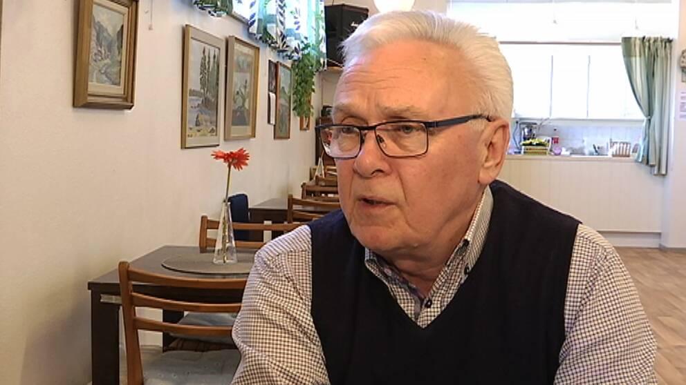 Rolf Axelsson, engagerad i PRO i Hagfors