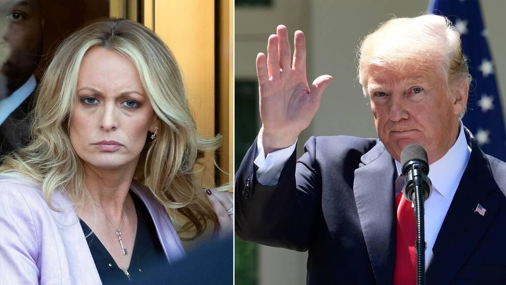 Stephanie Clifford och Donald Trump