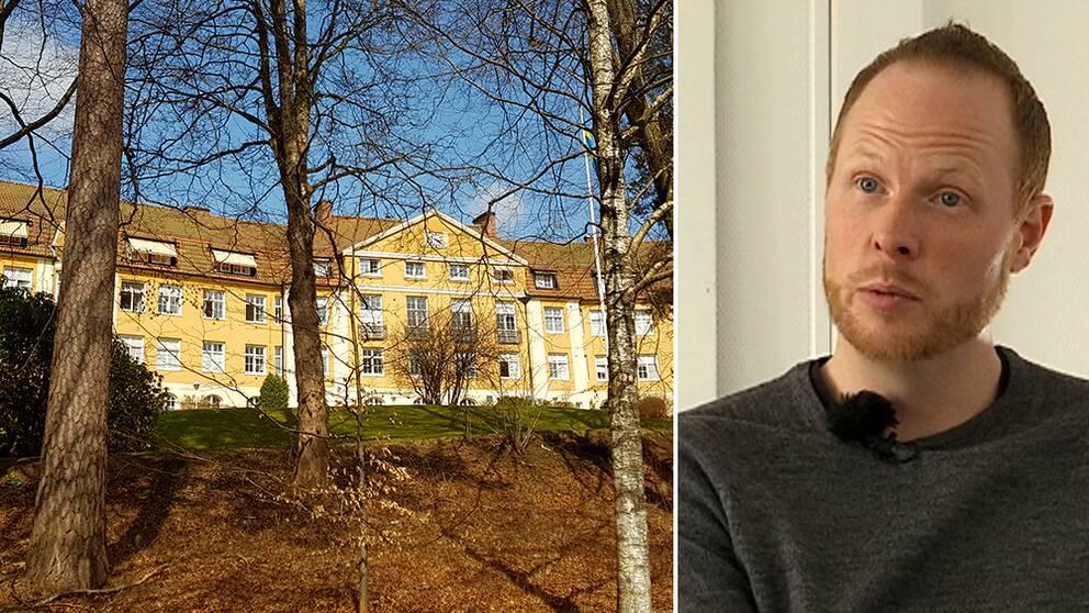 Carl Hedberg är Migrationsverkets enhetschef på Spenshult.