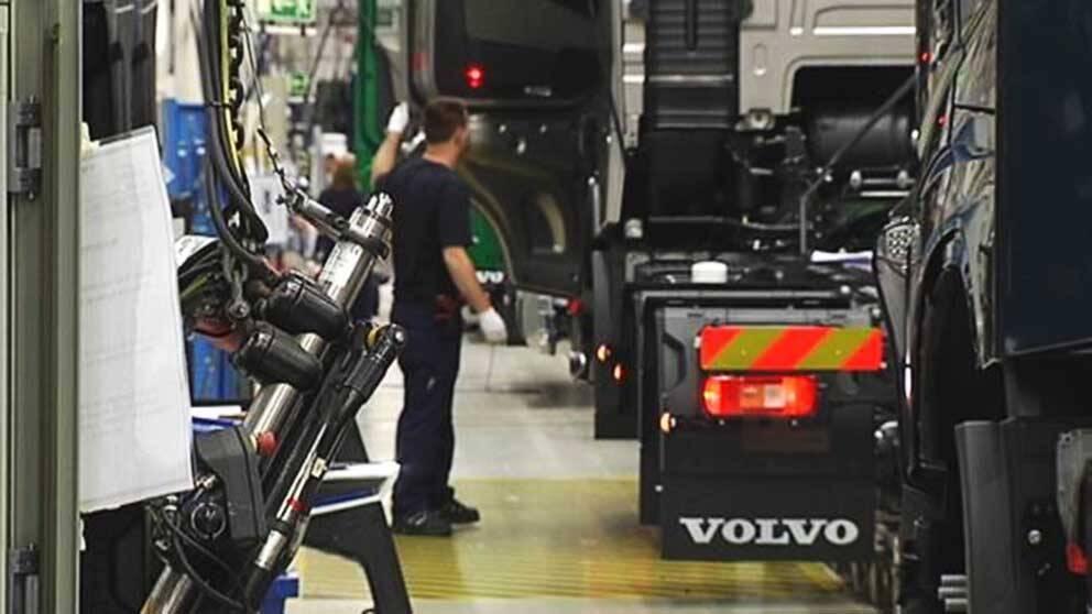 Volvo planerar stora varsel