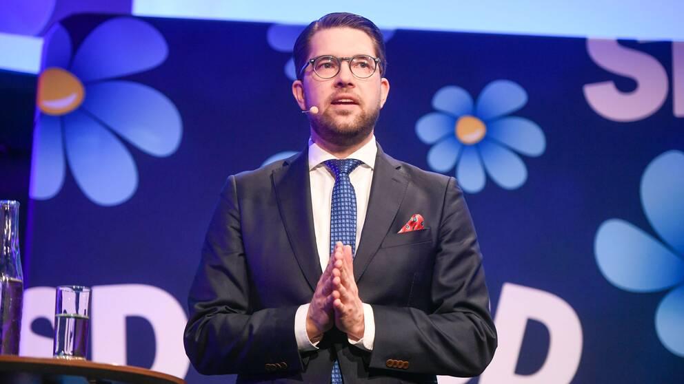 Sverigedemokraterna med partiledare Jimmie Åkesson har förstärkt sin roll som det parti som flest väljare tycker har den bästa invandrings- och integrationspolitiken.