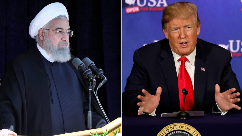 Irans president Hassan Rohani säger att USA kommer att ångra sig om man väljer att lämna kärnenergiavtalet.