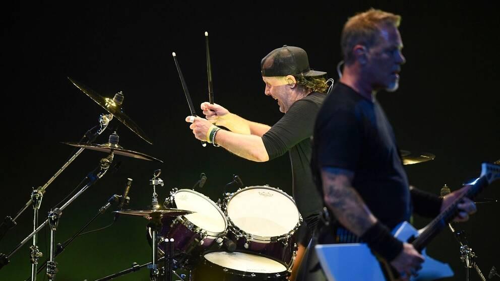 En svart skadad pa konsert i globen