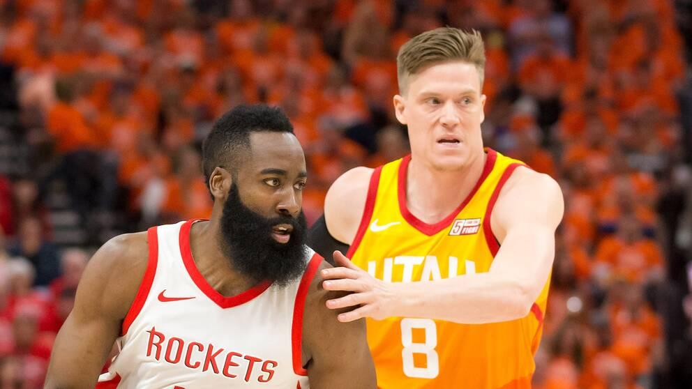 Jonas Jerebko åkte ur NBA-slutspelet i natt.