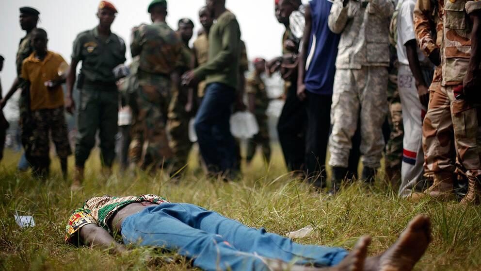 Muslimsk man lynchades i bangui