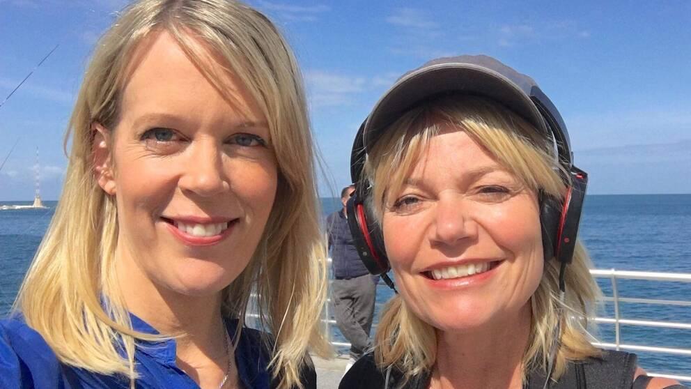 SVT:s nya Mellanösternteam – korrespondent Stina Blomgren och fotograf Pernilla Edholm. De täcker hela regionen, med bas i Beirut, från och med september