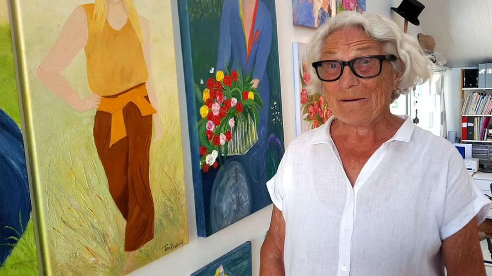 85-åriga Rosa Ekelund