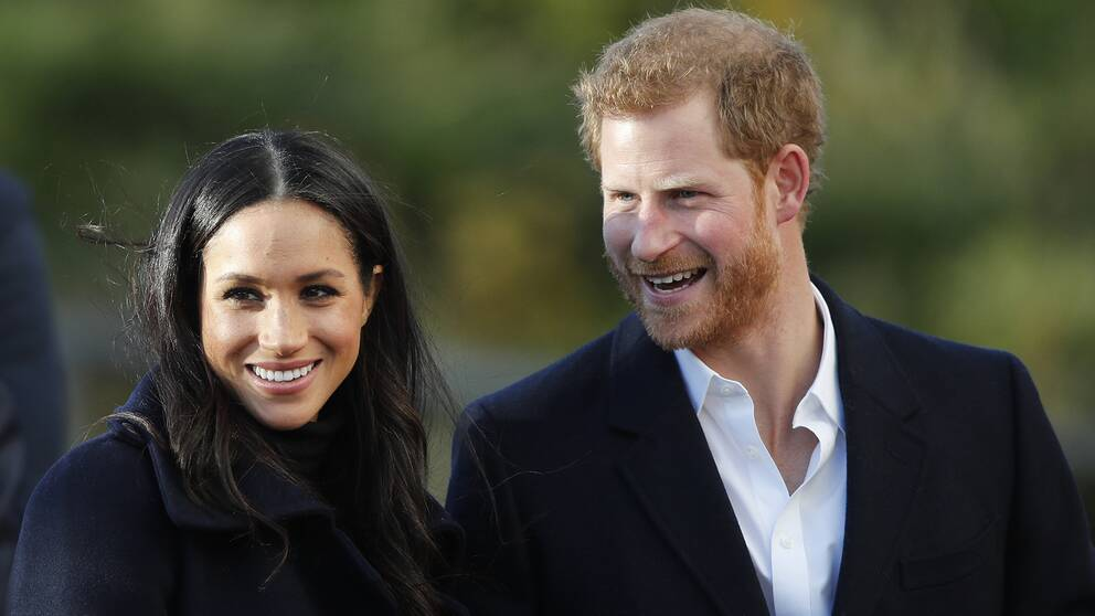 Meghan Markle och prins Harry.