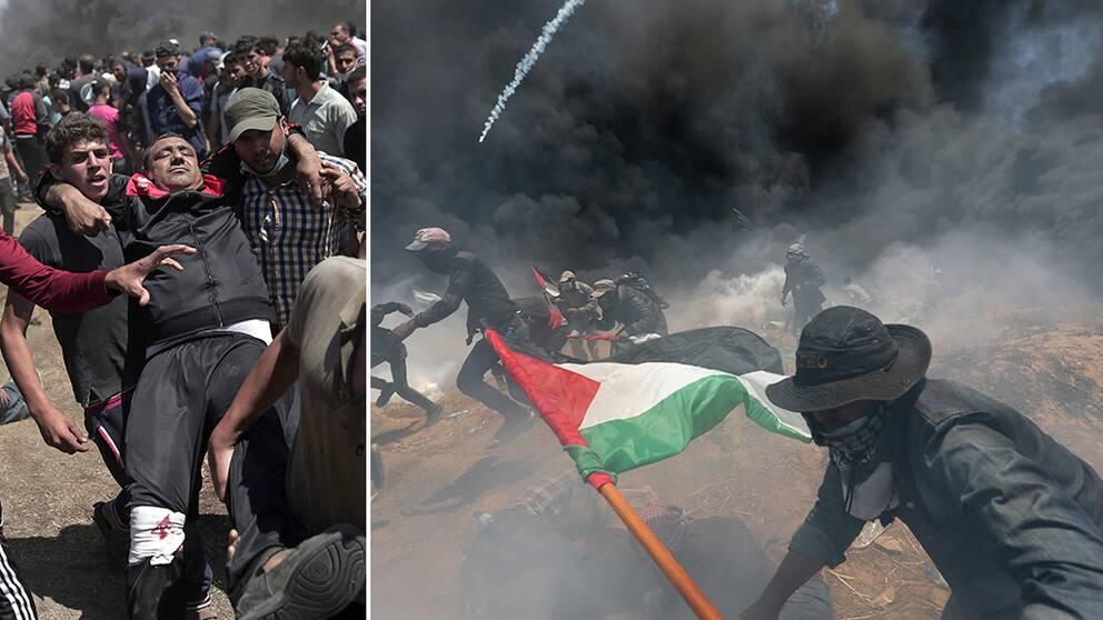 Dödssiffran stiger i Gaza