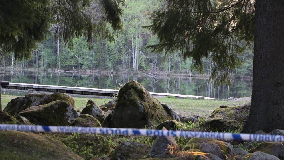 Misstankt kropp hittad i uppsalasjo