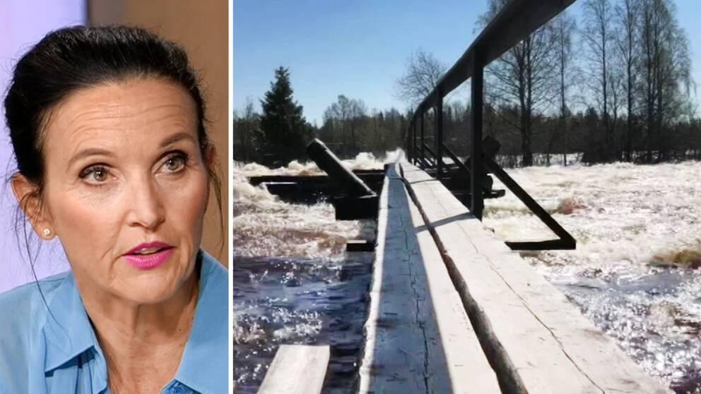 SVT:s meteorolog Pia Hultgren