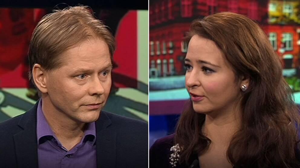 Anders Lindberg, politisk chefredaktör på Aftonbladet och Alice Teodorescu, chef för ledarsidan på Göteborgs-Posten menar att både förvirring och politikerförakt kan uppstå när S och M har svängt snabbt i flera frågor.