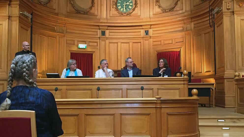 Seminarium om teckenspråk i riksdagen