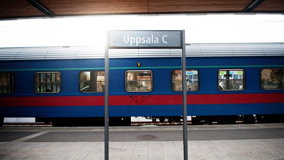 uppsala tågstation