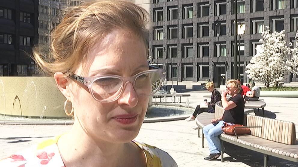 Helene Öberg är statssekreterare på Utbildningsdepartementet