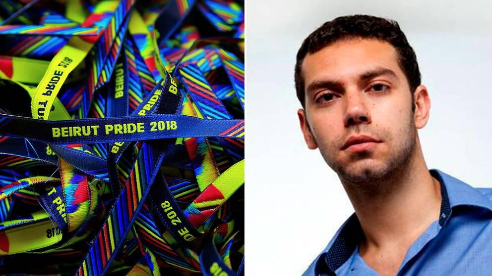 Arrangören av Beirut Pride, Hadi Damien.