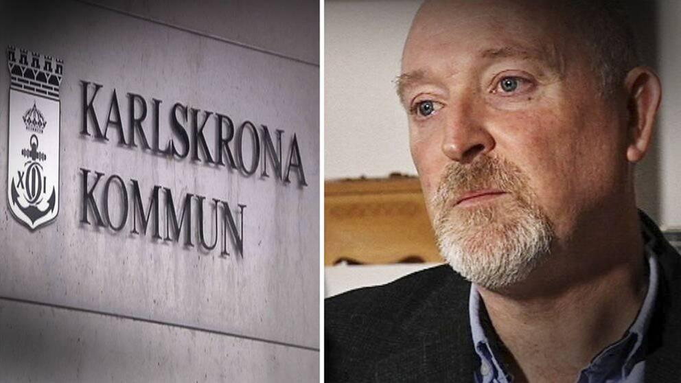 Patrik Hansson (S) ordförande i kommunstyrelsen.