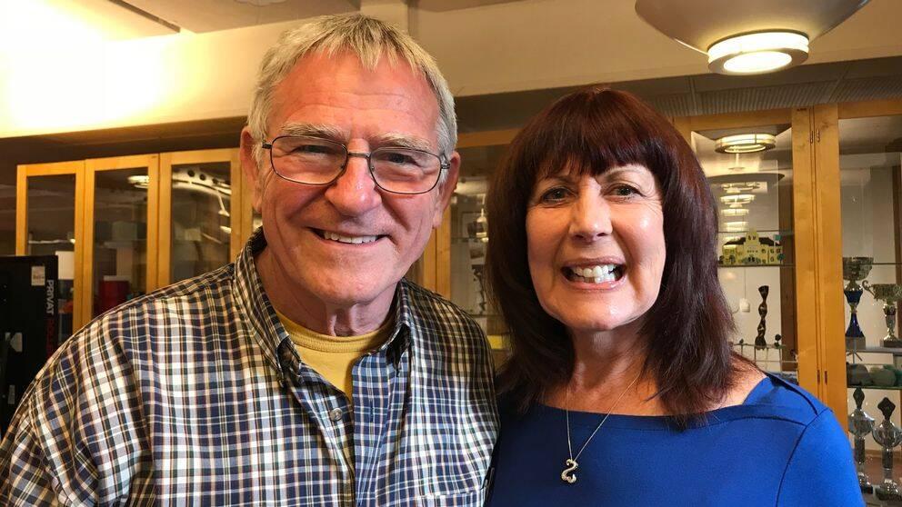 David och Sandy Wright coachar Rönninge Show Chorus inför VM.