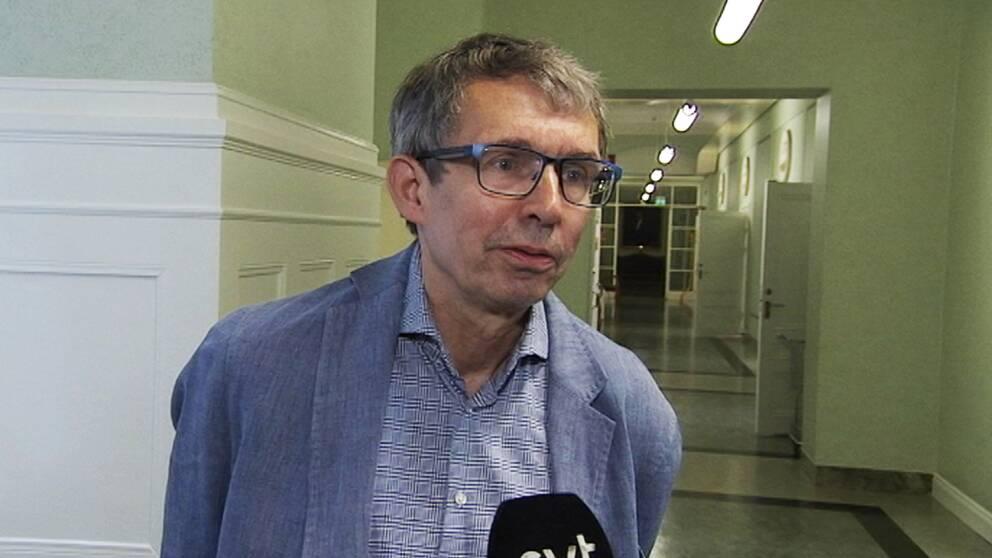 """""""En del gillade inte budskapet att volym spelar roll"""" säger den kritiserade utredaren till SVT."""