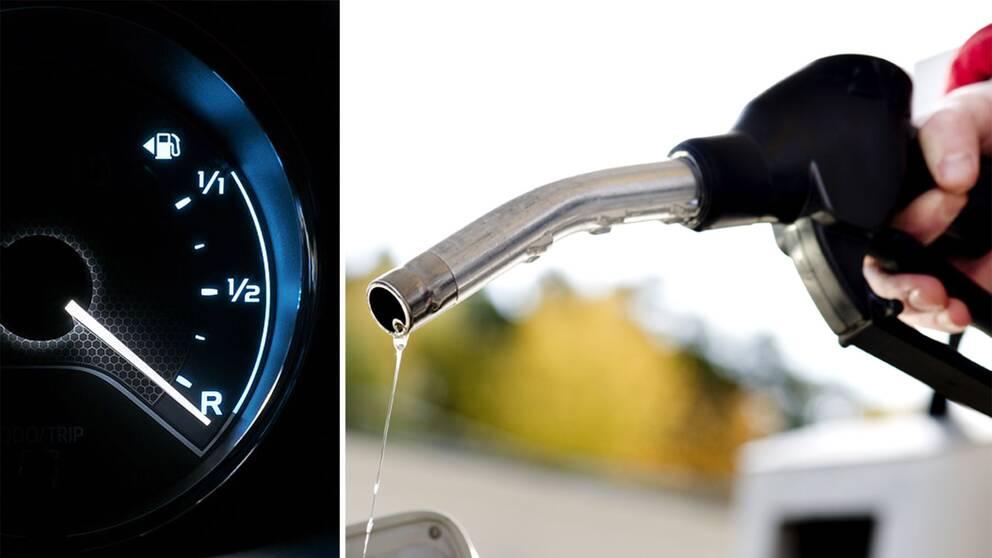 Rekordhogt bensinpris hojs igen