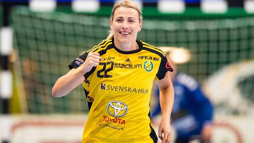 Johanna Ahlm under SM-finalen.
