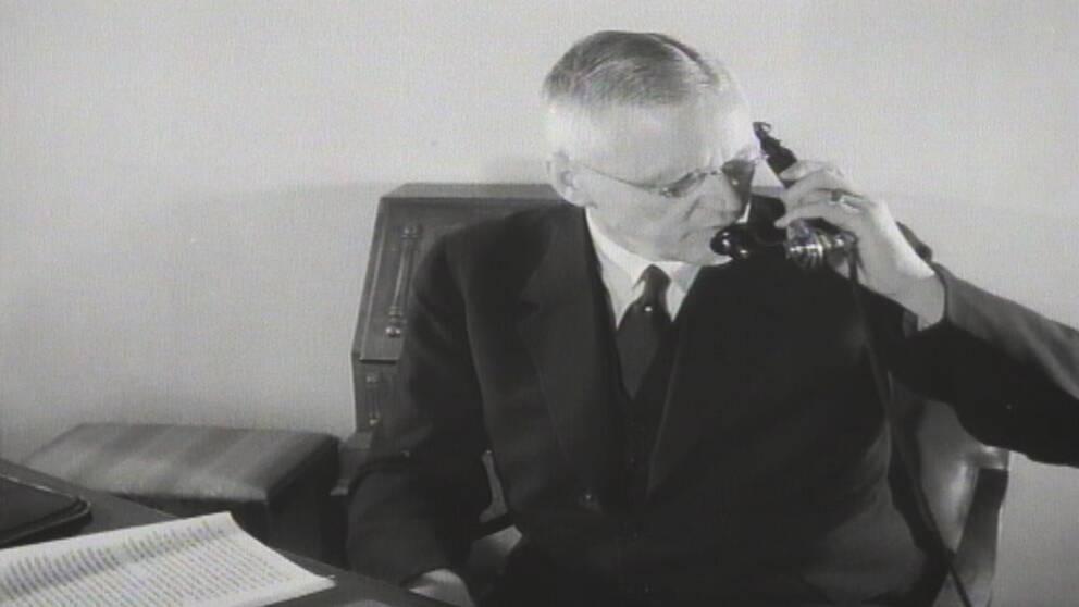 Vi har grävt fram en gammal journalfilm från 40-talet