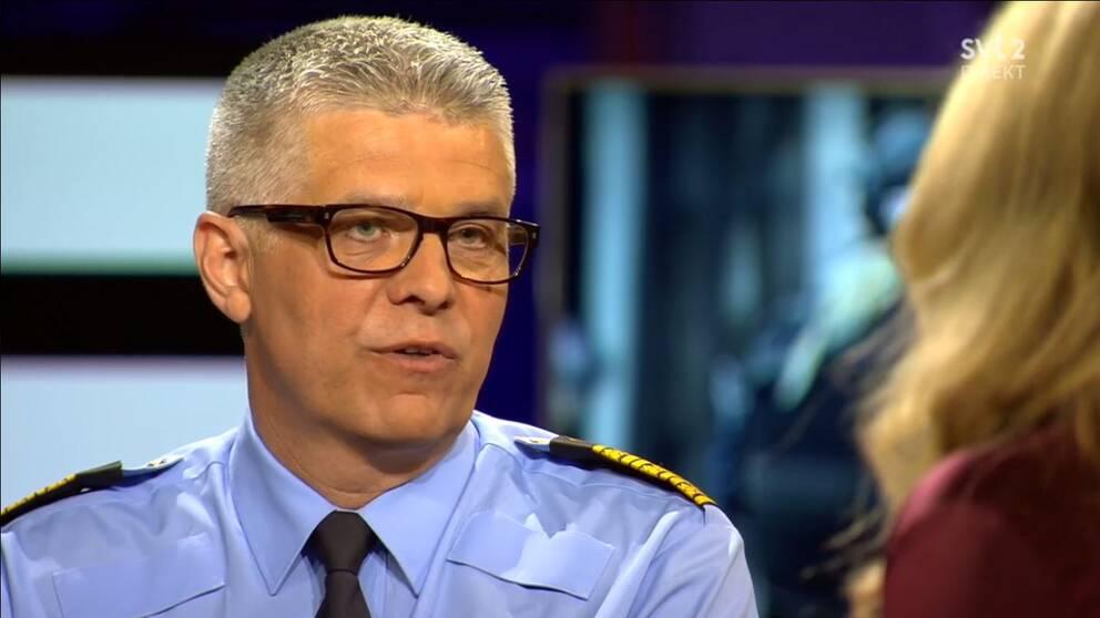 Sveriges nye rikspolischef Anders Thornberg.