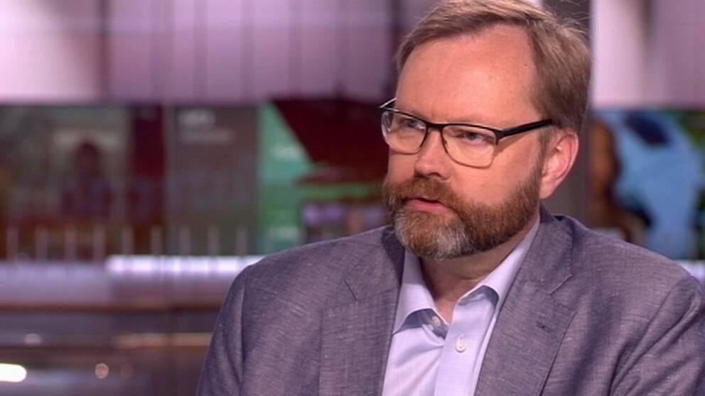 Niklas Granholm, forskningsledare vid Totalförsvarets forskningsinsitut (FOI).