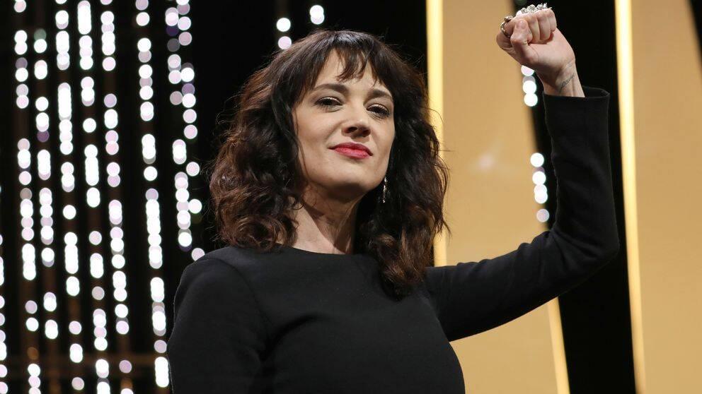 Den italienska skådespelaren och regissören Asia Argento.