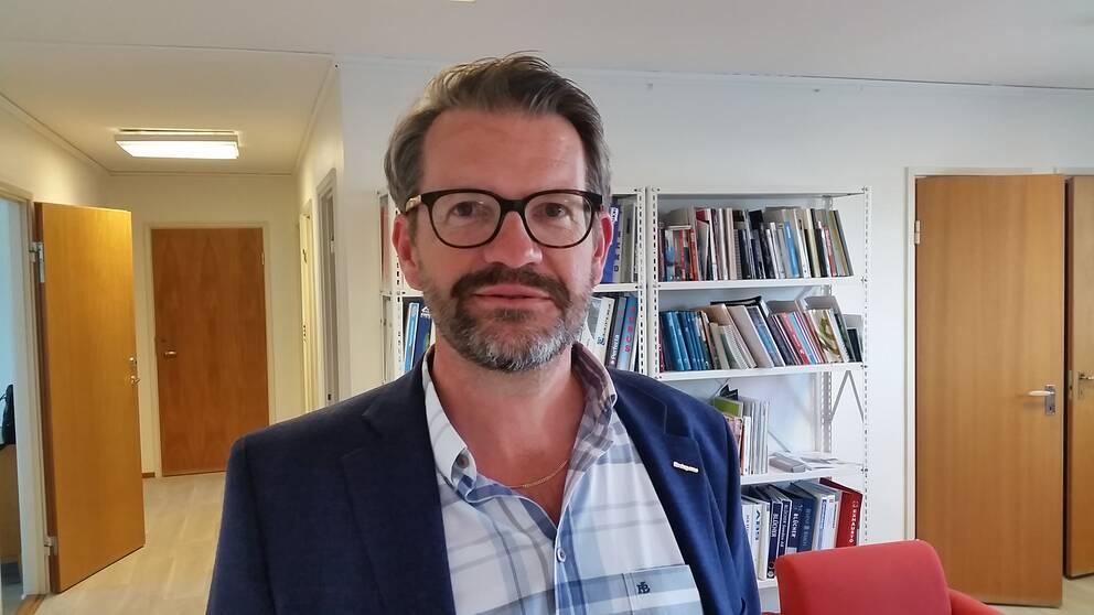 Mikael Erlandsson, regionchef Företagarna i Västra Götaland.