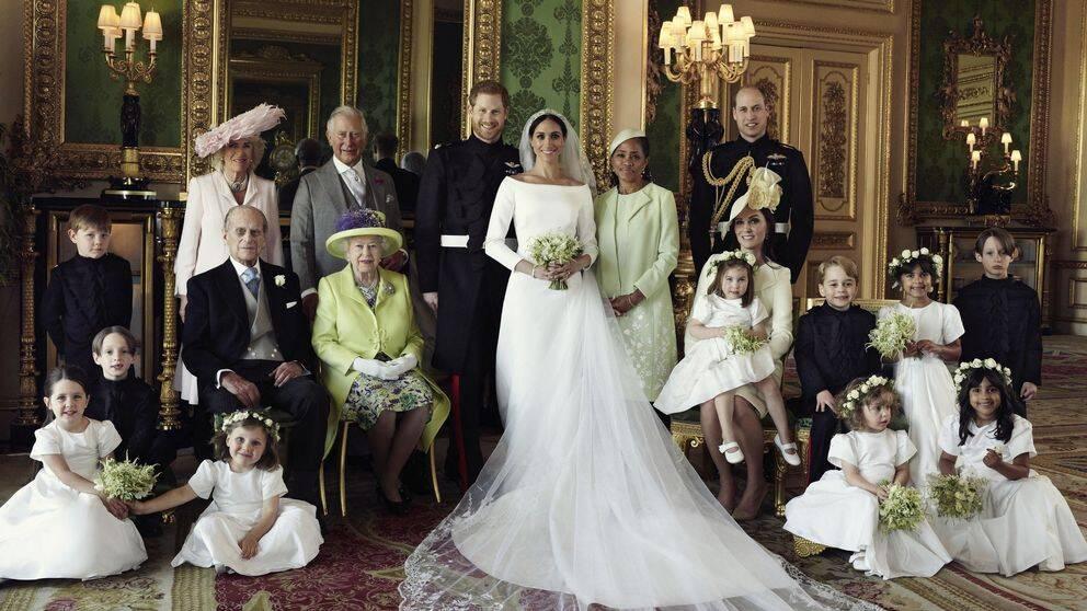 7ce36012f916 Här är det brittiska hovets egna bilder från prins Harry och Meghans ...