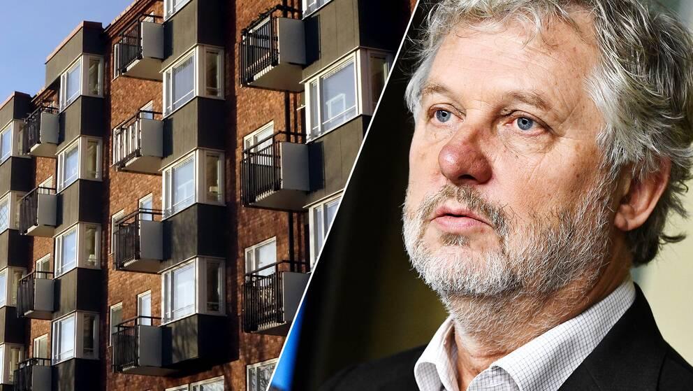 Bostäder och bostadsminister Peter Eriksson (MP)