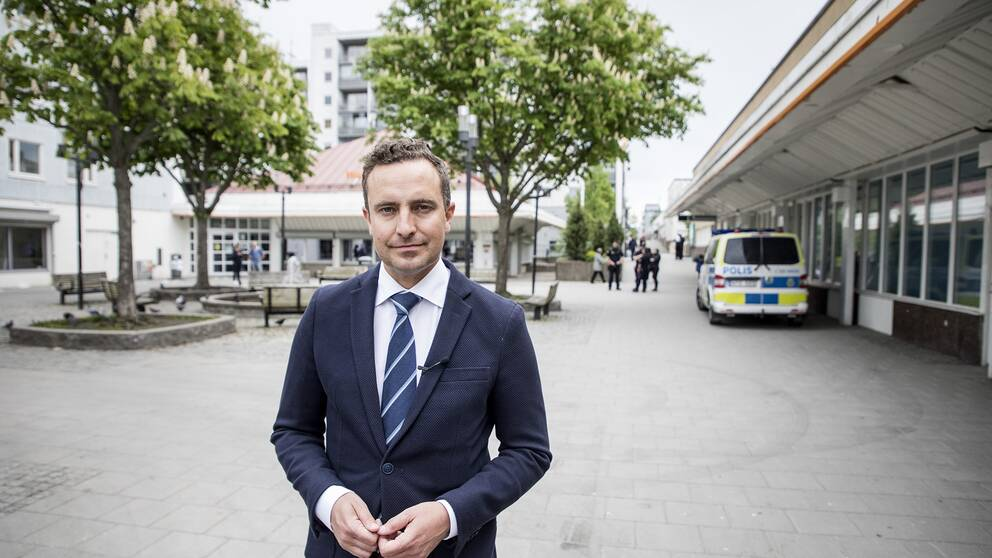 Moderaternas rättspolitiska talesperson Tomas Tobé