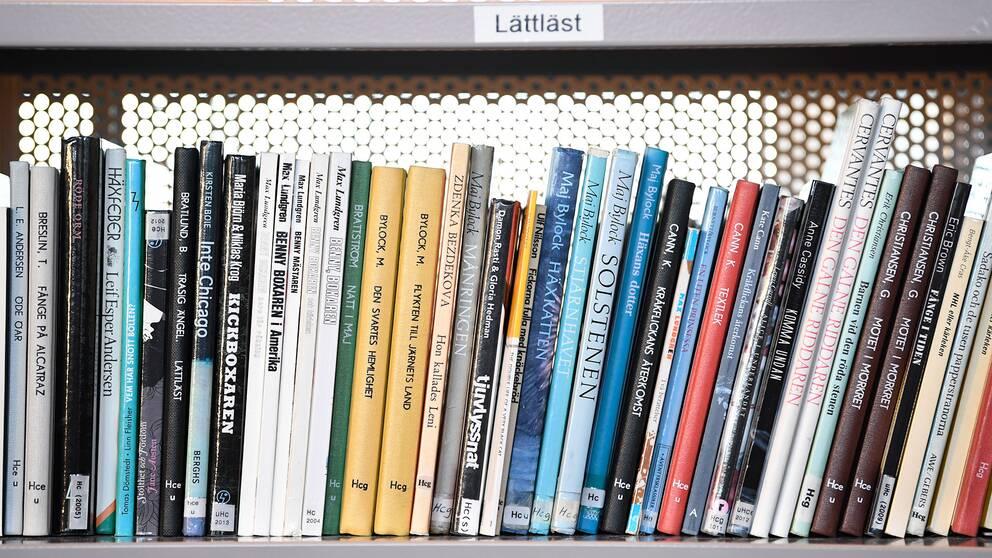 Skolbiblioteken blir fler i Sverige.