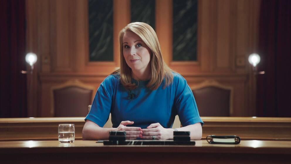 Annie Lööf (C) i Tal till nationen
