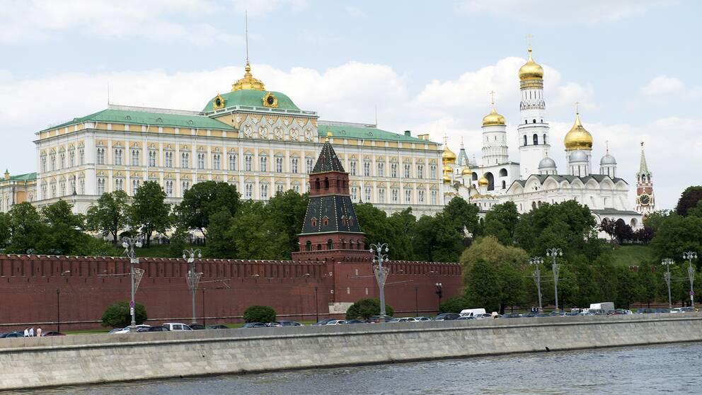 Regeringskvarteret Kreml i Moskva.