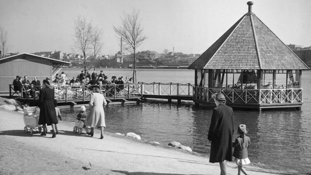 Vår i Stockholm 1944.