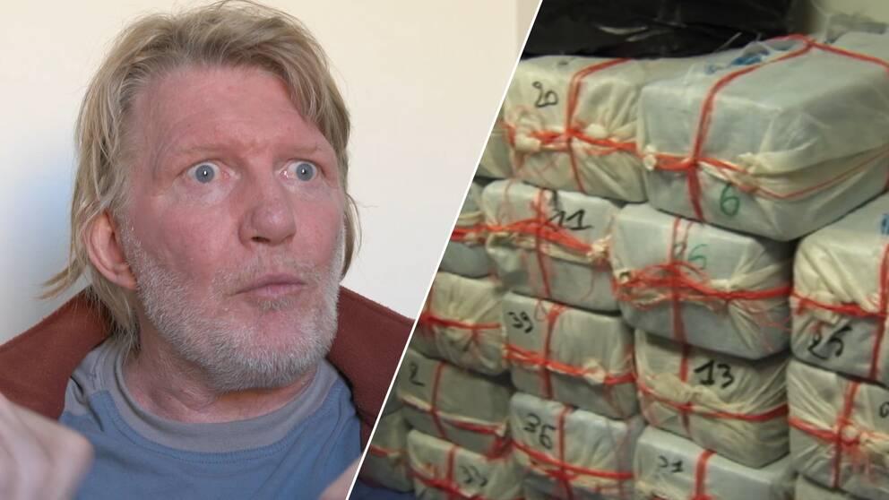 Kustbevakningen beslagtog sex ton kokain